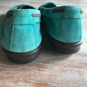 AEROSOLES Shoes - Reserved: Embellished turquoise suede flats